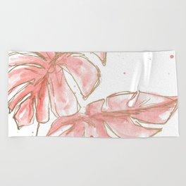 Tropical Twist Beach Towel