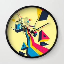 lenspectrum Wall Clock