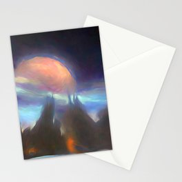 Other Worlds II Stationery Cards