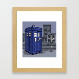PaperWho Framed Art Print