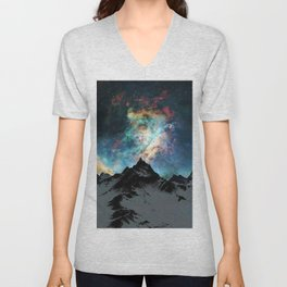 NORTHERN LIGHT ALASKA Unisex V-Neck