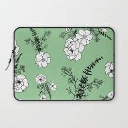 No One Can Make You Feel Inferior - Eleanor Roosevelt - Vintage Green Laptop Sleeve