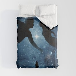 Touching the beauty of memories. Comforters
