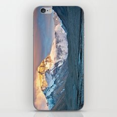 Sunset on Everest iPhone & iPod Skin