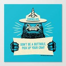 Ranger Cornelius Says... Canvas Print