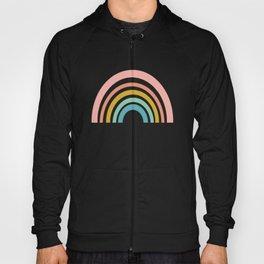 Simple Happy Rainbow Art Hoody