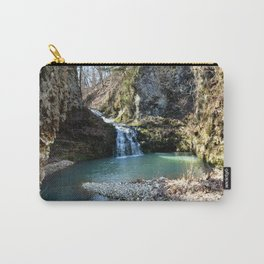 Alone in Secret Hollow with the Caves, Cascades, and Critters, No. 15 of 21 Carry-All Pouch