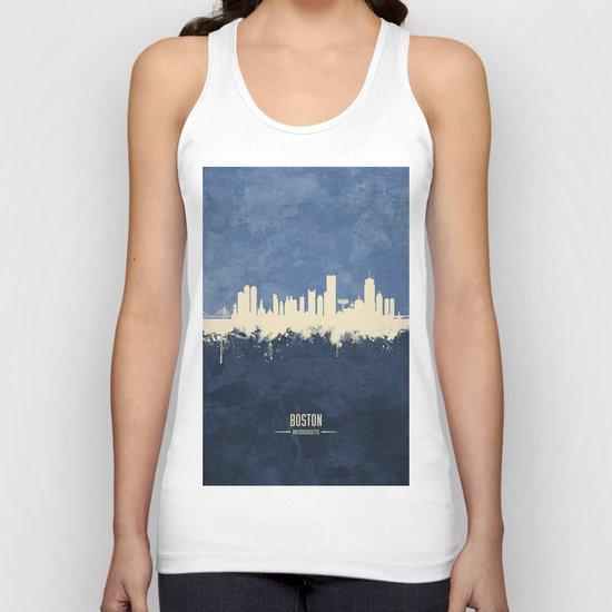 Boston Massachusetts Skyline by artpause