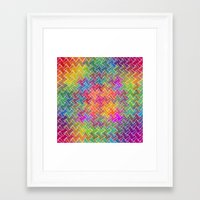 hippy Framed Art Prints featuring Hippy by HK Chik