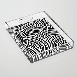 pattern 3 Acrylic Tray