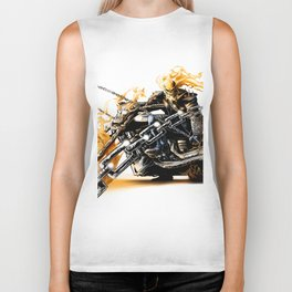 Ghost Rider Biker Tank