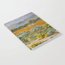 California Poppies and Wildflowers Notebook