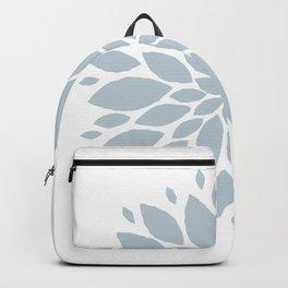 Flower in White #2 Backpack