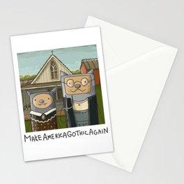 Make America Gothic Again Stationery Cards