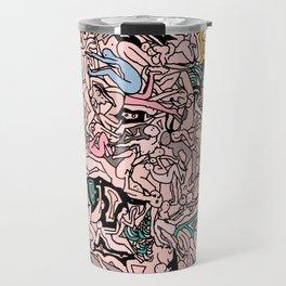 Kamasutra LOVE - Flesh Pink Travel Mug