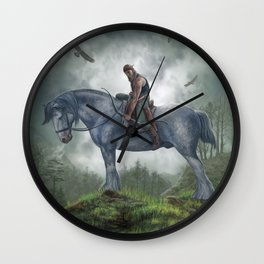 The Archer Wall Clock