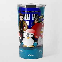 Tardis Christmas Travel Mug