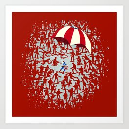 The Red Menace Art Print