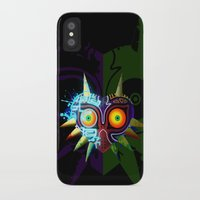 majoras mask iPhone & iPod Cases featuring Majora's Mask - Twili by brit eddy