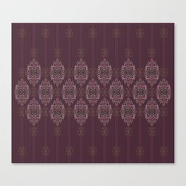 Vintage Burgundy horizontal Canvas Print