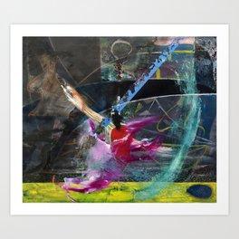 Degenerate Art (oil on canvas) Art Print