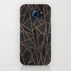 Shattered Black / 2 Galaxy S6 Slim Case