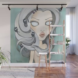 Hollow Goth painting, Pop Surrealism Wall Mural
