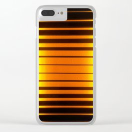 Stained Glass Light Art No.06 Geometric Design Clear iPhone Case
