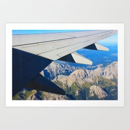 Airplane Wing Art Print