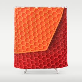 Flap. Fashion Textures Shower Curtain