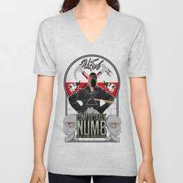 Pink Floyd illustration Unisex V-Neck