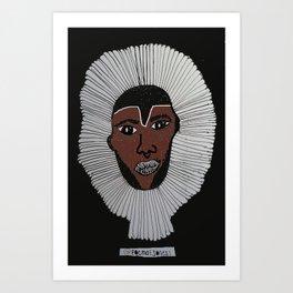 Boogie Man Art Print