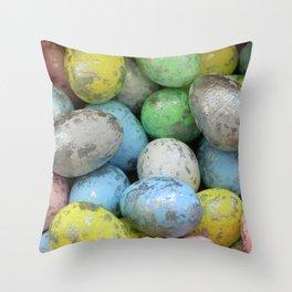 Easter Egg Hunt Throw Pillow