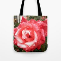 Rainy Day Rose Tote Bag