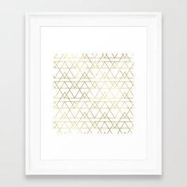 Modern Gold Framed Art Print