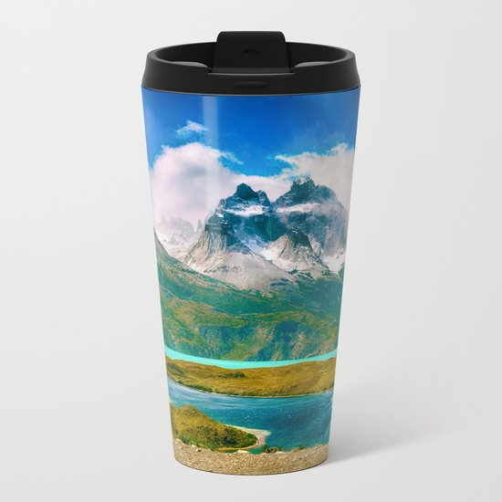 Earth, Water, Air Metal Travel Mug