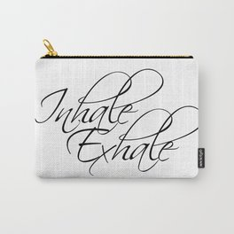 inhale exhale Carry-All Pouch
