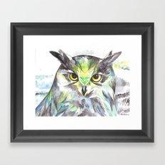 Dreamy Owl Framed Art Print