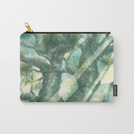 Acuarella wood Carry-All Pouch
