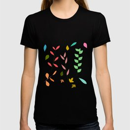 Colorful grasses T-shirt