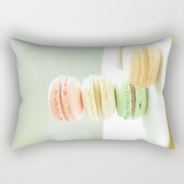 Hmmm Macarons Rectangular Pillow
