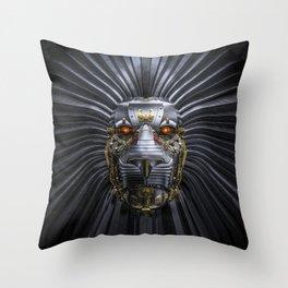 Lion Robot Throw Pillow