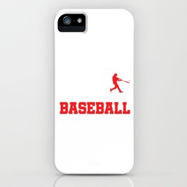 Pitcher Batter League Tournament Baseball Players The Evolution Of Baseball Gift iPhone Case
