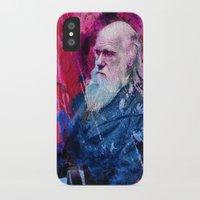 darwin iPhone & iPod Cases featuring Darwin by Angelo Lo Presti