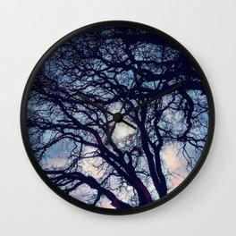 Mystic trees Wall Clock