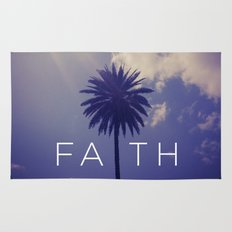 Palm Tree Faith Rug
