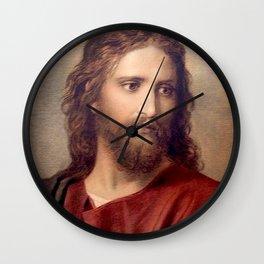 Heinrich Hofmann Christ 1889 Wall Clock
