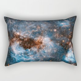 Into The Storm, Galaxy Background, Universe Large Print, Space Wall Art Decor, Deep Space Poster Rectangular Pillow