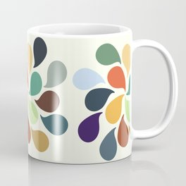 Colorful Water Drops Coffee Mug