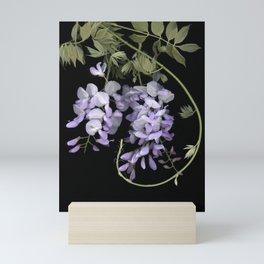 Wisteria Scanography Mini Art Print
